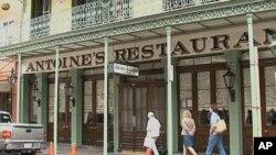 Antoine's restaurant in New Orleans