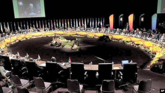 Commonwealth Foreign Ministers meeting in Perth, Australia, October 26, 2011
