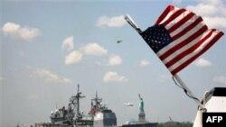 Tuần dương hạm USS Monterey của Mỹ đang tham gia các cuộc tập trận hỗn hợp thường niên do NATO và Ukraina tiến hành