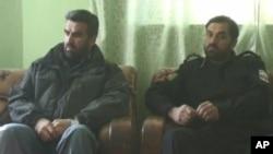 آرشیف: جنرال داوود داود همراه با جنرال عبدالرحمن سعیدخیلی که چندی قبل در اثر حملۀ انتحاری در ولایت قندز کشته شد.