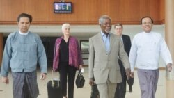 Kofi Annan ျမန္မာႏုိင္ငံေရာက္ရွိ