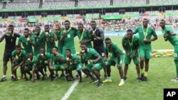 Les Nigériens lors des Jeux olympiques de Rio, au Brésil, le 20 août 2016.