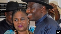 Shugaba Jonathan da Uwargidansa