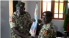 ABUJA: Sabon kwamandan Operation Lafiya Dole Manjo Rogers Nicolas tare da Manjo Ibrahim Attahiru, Disemba 12, 2017