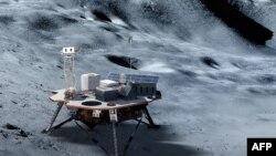 NASA menargetkan pendaratan manusia di bulan pada tahun 2024.