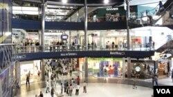 Aspecto del Mall of America, el más grande de Estados Unidos.