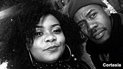 Cantora ganense Patty e o cantor e dançarino angolano Danny Boy