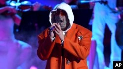 Bad Bunny nos Latin Grammy Awards 2019