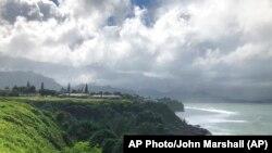 Фото: узбережжя острова Кауаї, поблизу якого було помічено російський корабель