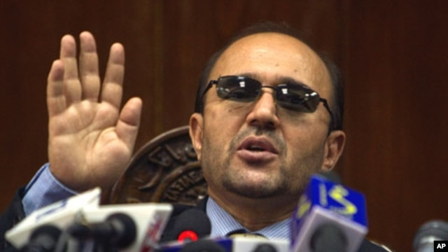 Afghan Central Bank Governor Abdul Qadir Fitrat