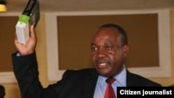 Suspended Harare mayor Bernard Manyenyeni