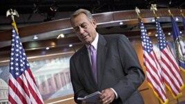 Chủ tịch Hạ viện John Boehner nói phe Cộng hòa sẽ cùng nhau chống đỡ các đề xuất của đảng Dân chủ