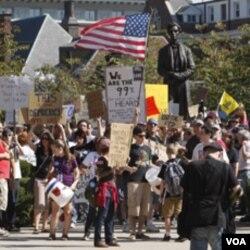 Prosvjednici smetaju stanovnicima Manhattana