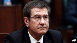 Turski ministar odbrane Nuretin Canikli (arhivska fotografija)