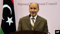 Mustafa Abdel Jalil, chairman of the Libyan National Transitional Council, NTC. (file photo)