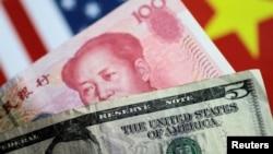美元和人民幣