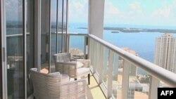 Jedan od stanova u Majamiju s pogledom na more