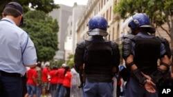 Polícia sul-africana