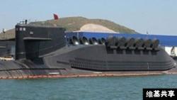 中國晉級戰略核潛艇