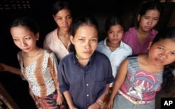 A group of Cambodian women