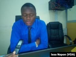 Brahima Konate, responsable cellule de pilotage, à Ouagadougou, au Burkina, le 11 septembre 2018. (VOA/Issa Napon)
