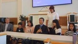 [뉴스풍경 오디오] 중국 태생 탈북자 2세들 미국 방문