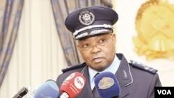 "Comissario geral Alfredo Eduardo Manuel ""Mingas"" comandante da policia nacional Angola"