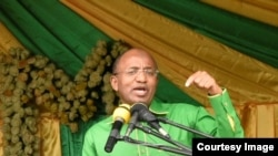Rais Hussein Mwinyi
