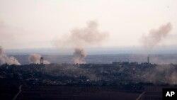 ဆီးရီးယား အစိုးရ စစ္ေလယာဥ္ေတြ Aleppo ၿမိဳ႕တ၀ိုက္နဲ႔ တျခား ေဒသေတြမွာ ေလေၾကာင္းကေန တိုက္ခိုက္ခဲ့