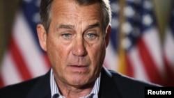 Chủ tịch Hạ viện của đảng Cộng hòa, John Boehner.