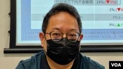 香港伍輪貢學院社會科學院講師黃志偉表示,國安法之下的移民潮暫時未有時限,視乎當局的執法手段有多強硬 (美國之音/湯惠芸)