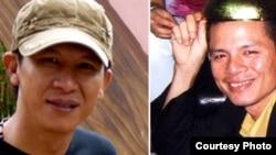 """兩名越南知名音樂人武明智(筆名""""越康"""")和安賓(資料圖片)"""