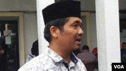 Direktur Lingkar Madani Indonesia (LIMA), Ray Rangkuti. (VOA/Fathiyah)