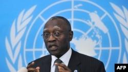 Utusan Khusus PBB untuk Republik Africa Tengah, Babacar Gaye di Bangui (Foto: dok).