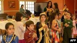 Azərbaycanlı qadınlar ABŞ-da uşaqlar üçün Novruz şənliyi keçirib