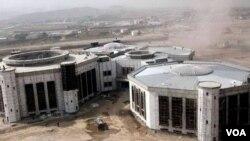 Новое здание афганского парламента