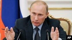 내년 대선 출마가 예상되는 블라디미르 푸틴 현 러시아 총리