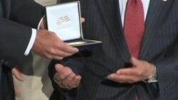 美国会给二战日本裔老兵颁发金质奖