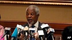 L'ancien secrétaire général de l'ONU, Kofi Annan, le 6 décembre 2016.