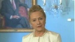 希拉里‧克林頓入住醫院