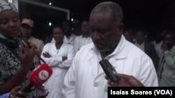 Isaac Savumbi, director-geral Hospital Regional de Malanje, Angola