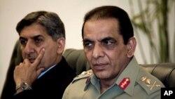 اظهارات قوماندان قوای نظامی پاکستان به اعضای پارلمان آن کشور
