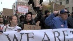 AQShda norozilik namoyishlari davom etadi, bahorda katta rejalar/Occupy protests, what's next?