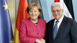 ديدار آنگلا مرکل و محمود عباس در برلين