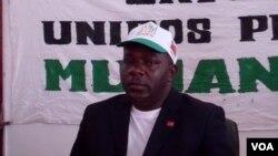 Angola Secretario provincial da UNITA em Malanje António Pedro Magalhães