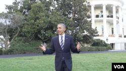 美國奧巴馬總統在臉書上一個視頻,呼籲在氣候變化問題上達成一個全球性的協議。(白宮網頁視頻截圖)