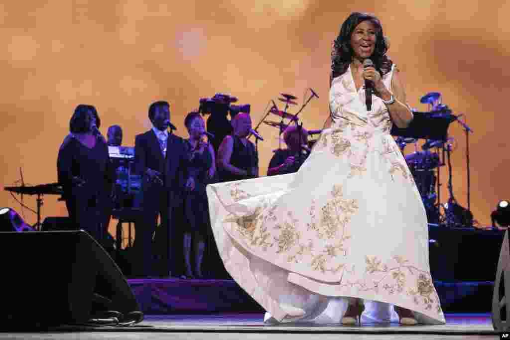 Aretha Franklin, New York 2017