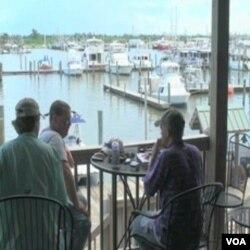 Mnogi komercijalni ribari su u Delti Mississippija privremeno bili bez posla dok je trajao izljev nafte iz bušotine BP-a
