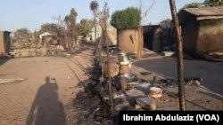 Kauyen da 'yan Boko Haram suka kai hari