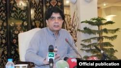 وفاقی وزیر داخلہ چودھری نثار علی خان (فائل فوٹو)